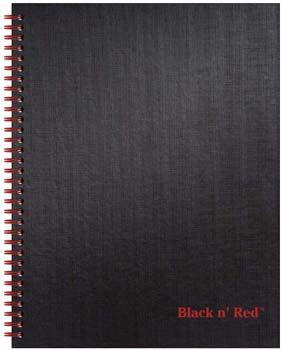 Black n' Red Hardcover Notebook