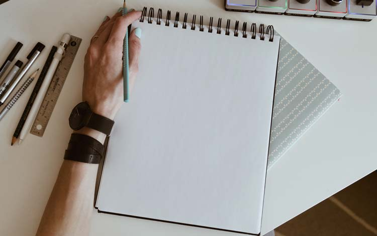 What to Do With an Empty Notebook