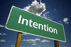 intention for the day