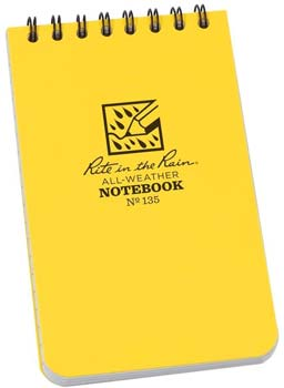 Rite in the Rain 135L All-Weather Top-Spiral Notebook