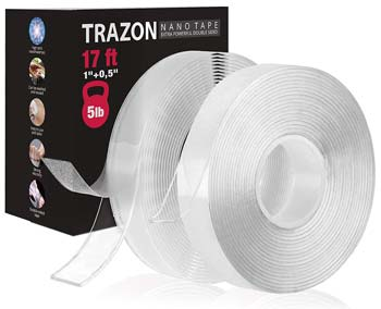Trazon Double Sided Tape for Walls
