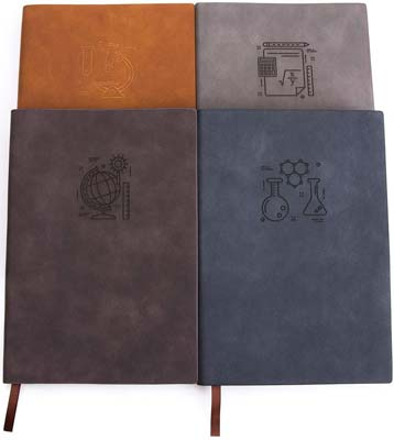 Fanery Sue 180° Lay Flat Thick Paper Leatherette Notebook