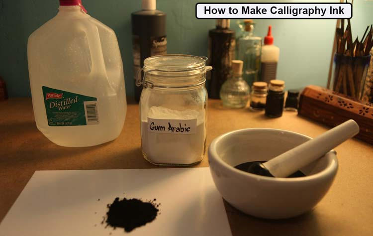 How to Make Calligraphy Ink